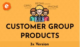 Customer Group Products