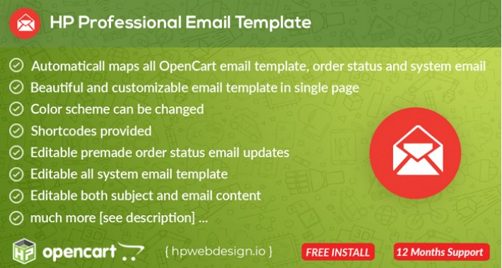 Professional Email Template [Advanced]