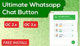 Whatsapp Chat Button - Multi Customer Services [..