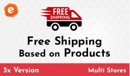 Free Shipping Based on Products