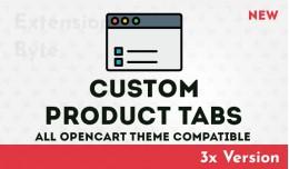 Custom Product Tabs