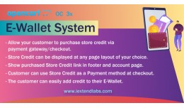 OpenCart E-Wallet System