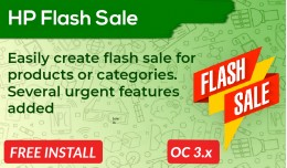 Flash Sale for Products and Categories [Advanced]