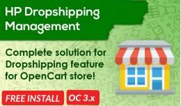 Dropshipping / Dropshipper Management [Advanced]