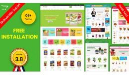 COMSHOP-03  Fresh organic grocery, plants, Free ..