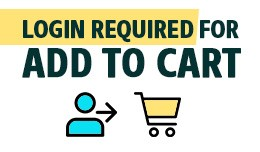Login required for add to cart