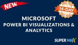 Microsoft Power BI Visualizations & Analytics