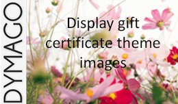 Display voucher theme images