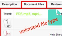 Product Attachments - Add files download to product