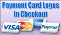 Payment Card Logos in Checkout - OpenCart 2.x