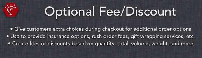 Optional Fee/Discount