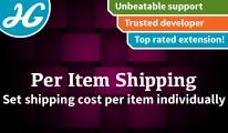 Custom per item shipping 1.4.8 - 1.5.X
