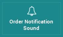 New Order Sound Notification
