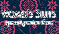 Women's Stuffs - OpenCart Theme