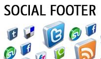 Social Footer
