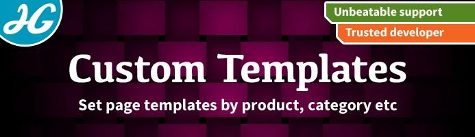 [VQMOD] Custom Templates 1.5.X