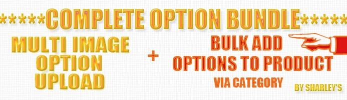 (VqMod) Complete Option Pack