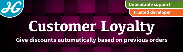 Customer loyalty discount 1.5.X
