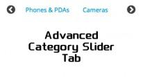 Animated Category Slider/Tab