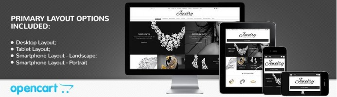 Jewelry Online Shop - Responsive Theme