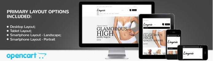 Lingerie - Responsive 2.0 Theme