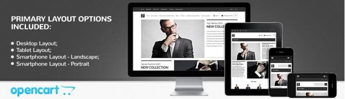 Men's Corporate Fashion - Responsive 2.0 Theme