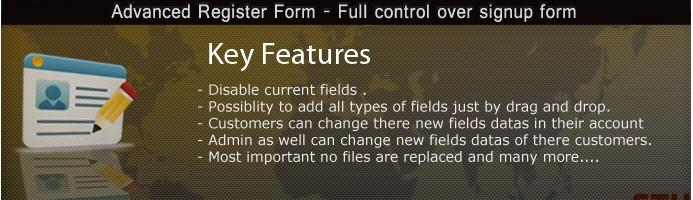 Advanced Register/Signup form