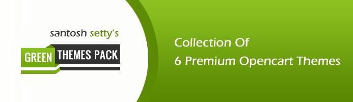 Green Premium OpenCart Themes Pack