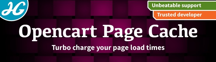 [VQMOD] Page Cache - Boost site speed and Google search ranking