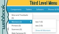 Third Level Menu / Categories (OCmod)