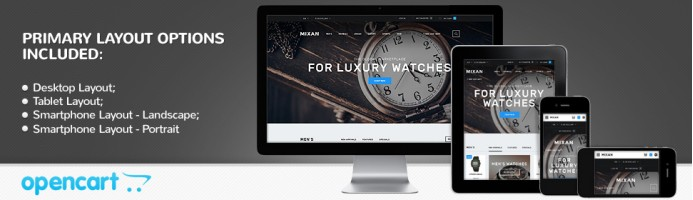 Watches Shop - Responsive 2.1 Theme