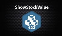 ShowStockValue On Product Page