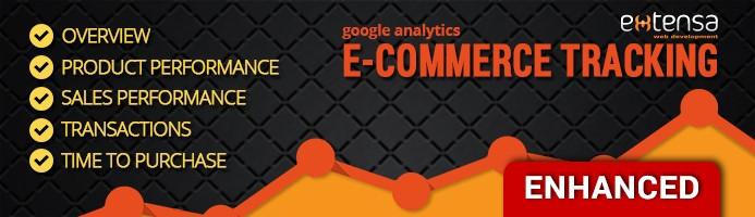 Google Analytics E-commerce Tracking PRO