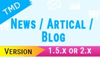 TMD News/ Artical/ Blog (1.5.x and 2.x)