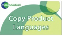 Copy Product Languages
