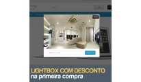 Desconto na Primeira Compra com Lightbox