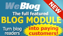 Weblog - Full featured blog  46$ - 50% OFF FOR A LIMITED TIME!