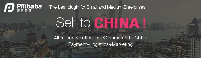 PILIBABA all-in-one solution for eCommerce to China