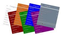 Unlimited categories ( Multi-level category menu )