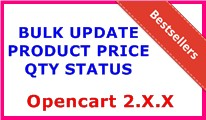BULK UPDATE PRODUCT PRICE QTY STATUS