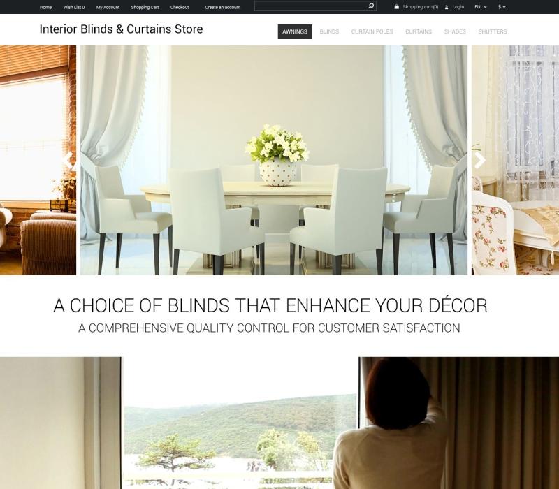 OpenCart Interior Style Theme