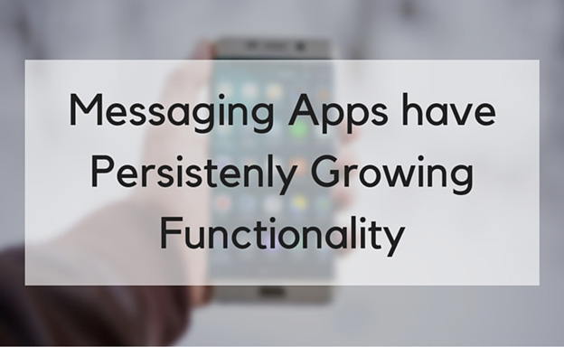 Messaging apps off the easiest means of online communication