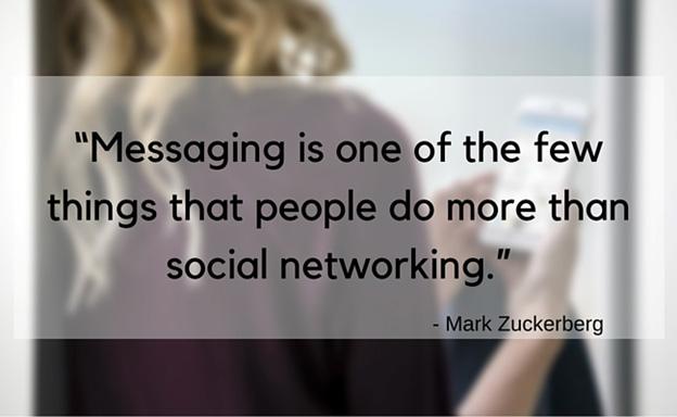 Mark Zuckerberg social media quote