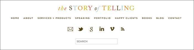 The Story of Telling Navigation