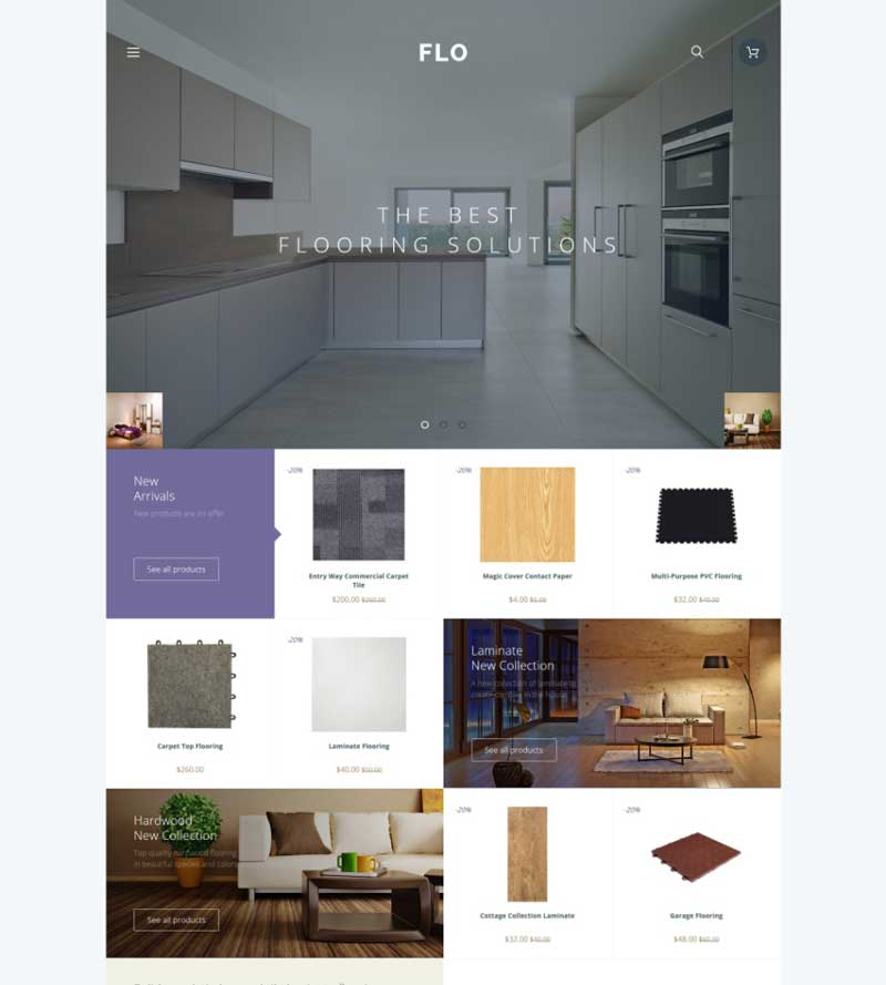 Interior & Furniture OpenCart Template