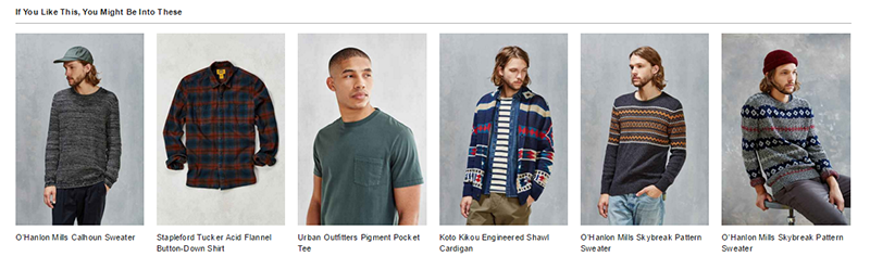 Urban Outfitters related products example