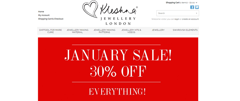 Kleshna sale example