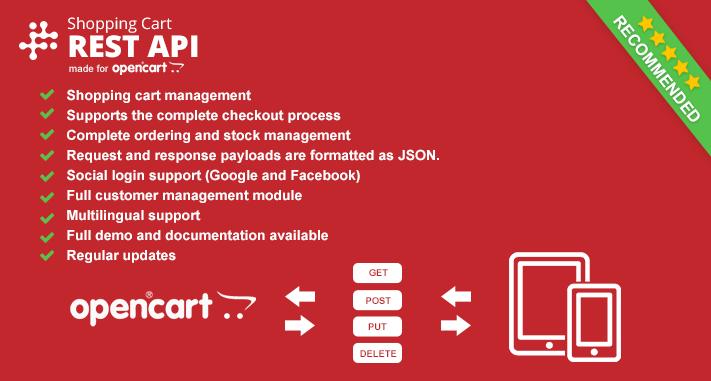 OpenCart - Restful API