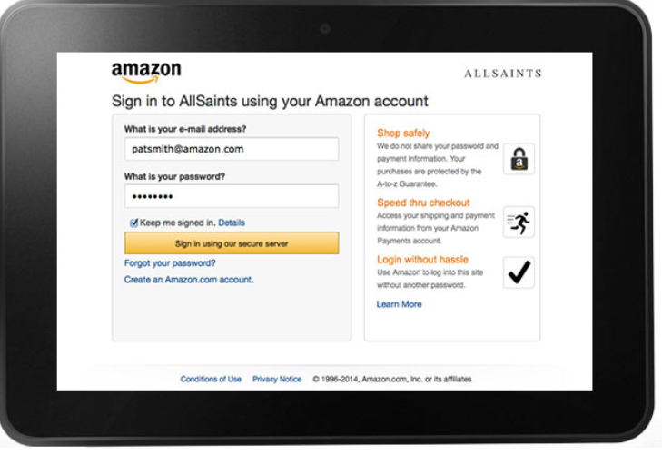 Amazon Payments example 1