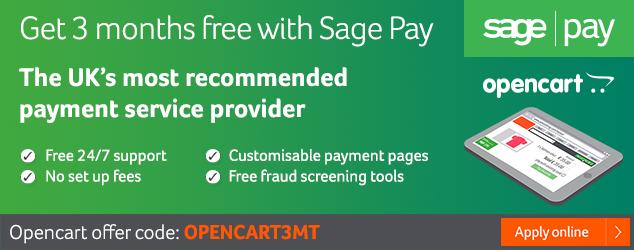 SagePay 3 months free offer